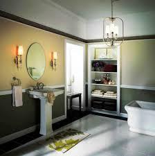 48 Bathroom Light Fixture 5 Light Vanity Lighting Fixtures Modern Bath Bathroom With Mirror