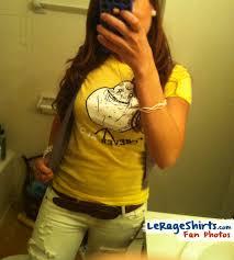 Forever Alone Girl Meme - nati from florida wearing forever alone meme shirt lerage shirts