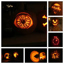 halloween home decoration ideas ideas spooky halloween pumpkin carving ideas for your home