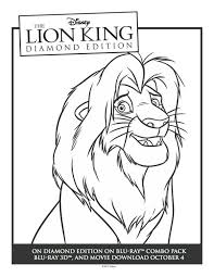 41 coloring pages lion king images