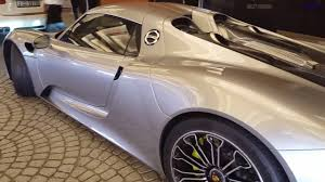 Porsche 918 Awd - porsche 918 spyder drive off in electric mode youtube
