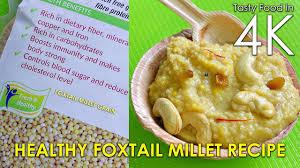 cuisine milet millet kheer healthy nutrients rich recipe 4k
