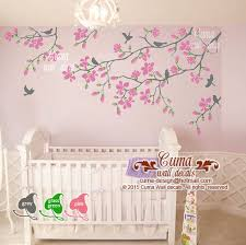 Vinyl Wall Decals For Nursery Pink Cherry Blossom Wall Decals Nursery Cuma Wall Decals
