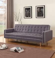 amazon com mid century modern two tone vintage linen sleeper