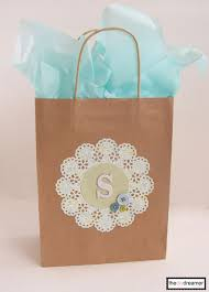 personalized gift bags craft paper personalized gift bag the d i y dreamer squares
