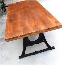 Industrial Style Dining Room Tables by Vintage Industrial Conference Kitchen Dining Room Table Cast Iron