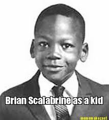 Brian Scalabrine Meme - meme maker brian scalabrine as a kid
