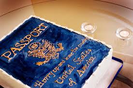 passport cake 27th birthday party phoenix arizona united states