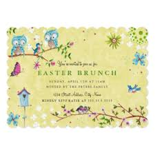 easter brunch invitations easter lunch invitations announcements zazzle