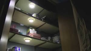 set of 3 led motion sensor closet and cabinet lights youtube
