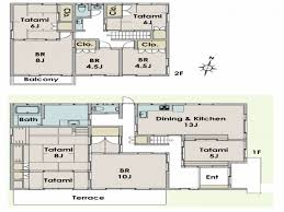Simple House Floor Plans With Measurements Collection Traditional Japanese Home Floor Plan Photos The