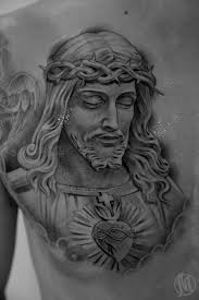 jesus chest piece tattoos jesus tattoo design for men on chest