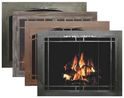 fireplace screen with glass doors bar iron collection of fireplace glass doors