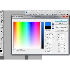 adobe photoshop change font color tutorial