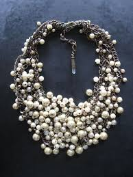 pearl bib statement necklace images 136 best choker gargantillas images choker jpg