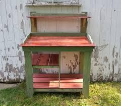 Pallet Garden Furniture Diy Diy Pallet And Maple Potting Bench Pallet Furniture Plans