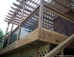 Pergola Deck Designs by 84 Best Elevated And Raised Deck Ideas Images On Pinterest