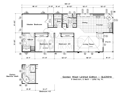 Standard Pacific Homes Floor Plans by Floor Plans Golden West Limited Series Tlc Manufactured Homes