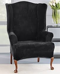 Wing Chair Slipcovers Wing Chair Slip Covers Macy U0027s