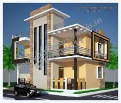 Modern Bungalow House Design Bungalow House Front Elevation Three Floors Pinterest Front