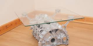 Car Wheel Coffee Table by Bored Build Yourself An Engine Coffee Table Free Car Mag