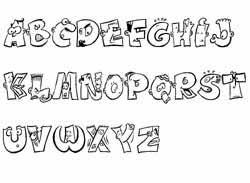 fiches alphabet abécédaires en maternelle