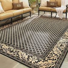 Canadian Tire Area Rug Outdoor Area Rugs Canada Square Black Floral Trellis Pattern