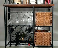 metal wine rack table buffet table w wine rack kyubey