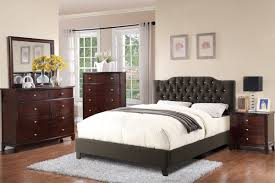 bedroom queen platform bed with storage and headboard full size