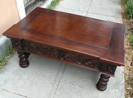 hand carved coffee table hand carved coffee table hand carved coffee table from germany