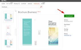 Plain Brochure Template by Powerpoint Flyer Templates Simple Brochure Templates For