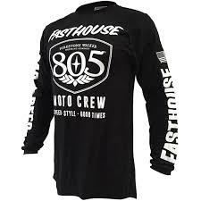 usa motocross gear fasthouse 805 shield black jersey mxstore picks riding gear