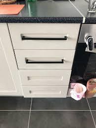 kitchen cabinet door knobs black 10mm square bar kitchen handle pulls black finish cabinet hardware drawer pulls knobs 2 12 pddjs10hbk