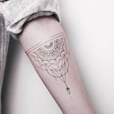 half mandala tattoo on the left inner forearm más ن pinterest