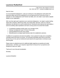 resume cover page exle 2 best automotive salesperson cover letter exles livecareer