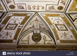 vatican castel sant angelo rome italy interior decoration painting