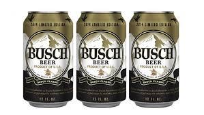 busch light aluminum bottles it s open season for busch beer drinkers packaging digest