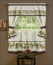 Green Kitchen Curtains Window Curtains Great Of Kitchen Curtains At Kmart Lime Green