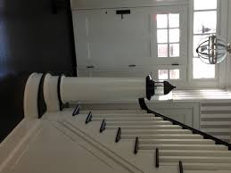staircase newel nautical design architectural millwork
