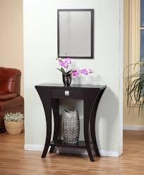 narrow entryway console table dark wood console table console tables ideas for narrow entryway
