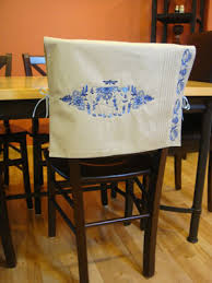 chair back covers free project to make a placemat chair back cover