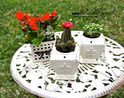 Flower Pot Repurpose Candle Warmers Into A Hanging Flower Pot The Chelle