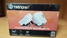 tpl 308e2k trendnet powerline 200 av nano adapter kit tpl 308e2k ebay