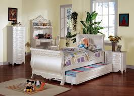 White Storage Bed Collection Classic Wood Single Sleigh Bedroom