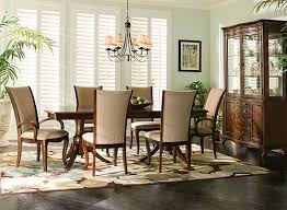 raymour and flanigan dining room sets keira 7 pc dining set cherry sand raymour flanigan