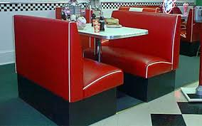 drive in diner booth set retro commercial quality 1950 u0027s