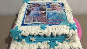 frozen elsa edible cake decorating
