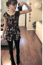 dress with leggings and heels fashion belief