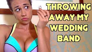my wedding band throwing away my wedding band bathroom banter 2