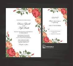 211 best wedding invitation templates free images on pinterest